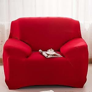 Amazon.com: Funda de sofá elástica alta elástica fundas para ...