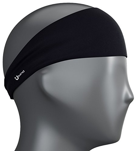 Mens Headband - Best Guys Sweatband & Sports Headband for Running, Crossfit, Working Out and Dominating Your Competition - Performance Stretch & Moisture Wicking