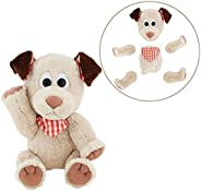 Animoodles Magnetic Parker Dog Stuffed Animal Plush, 7.5&