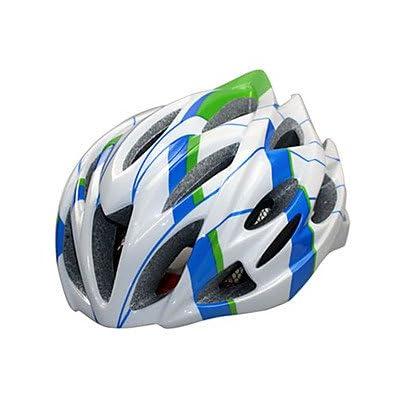 Ky-043Sports Unisexe casque de vélo 23Évents de cyclisme Cyclisme de montagne Vélo Route Vélo loisirs Cyclisme randonnée escalade PC Epsyellow Blanc