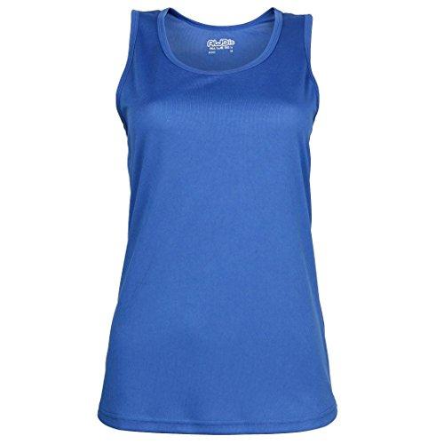 AWDis Cool - Camiseta sin mangas - para mujer azul real