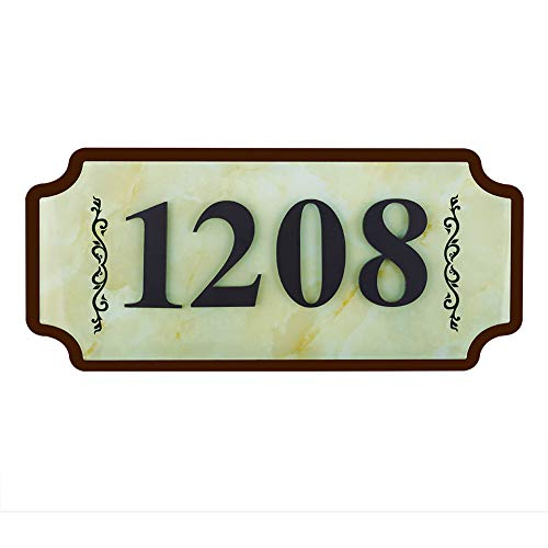 WaaHome Address Numbers House Number Plaque