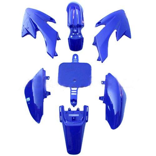 Plastic Body fairing Kit for HONDA CRF 50 XR 50 CRF50 XR50 Style 50 cc 70cc 90 cc 110cc 125 cc Pit Bike Dirt Bikes (Blue) (Plastic Body Fairing)