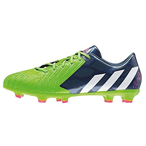 Adidas Predator Absolado Instinct FG Fussballschuhe rich blue-white-solar green - 43 1/3