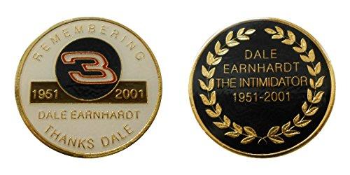 "Nascar #3 ""Dale Earnhardt"" Collectible Challenge Coin / Logo Poker /Lucky Chip"