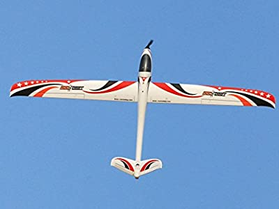 """Rochobby V-tail Glider 2200mm (86.6"""") Wingspan 5ch with Flaps PNP RC Airlane Aircraft"""