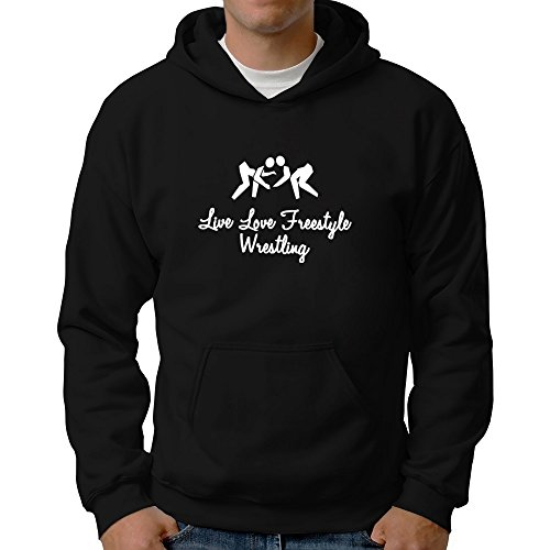 Eddany Live love Freestyle Wrestling Hoodie