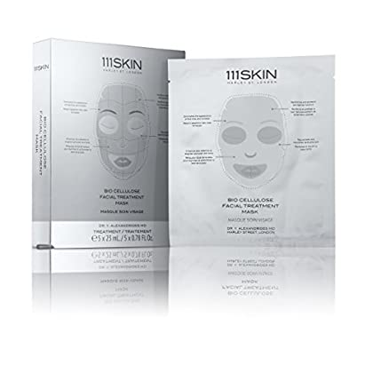 Image of 111SKIN Bio Cellulose Facial Treatment Mask, 5 Masks Health and Household