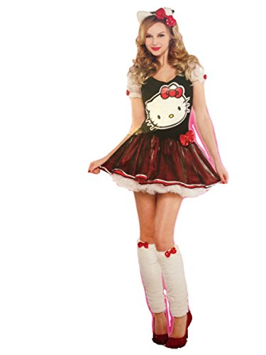 Womens Hello Kitty Costume (Large)