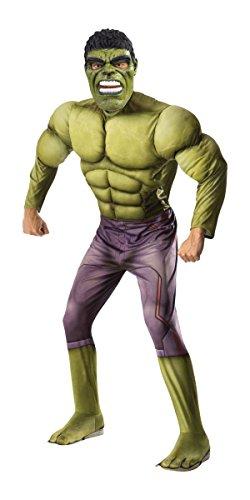 Rubie's Men's Hulk Adult Costume, Thor: Ragnarok, Standard
