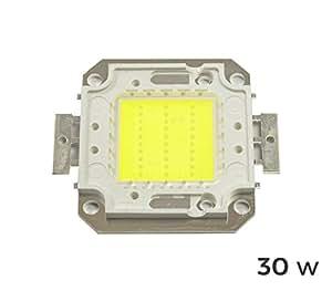 Placa de luces LED luz LED fría 6500 K 30watt chip. MWS placa