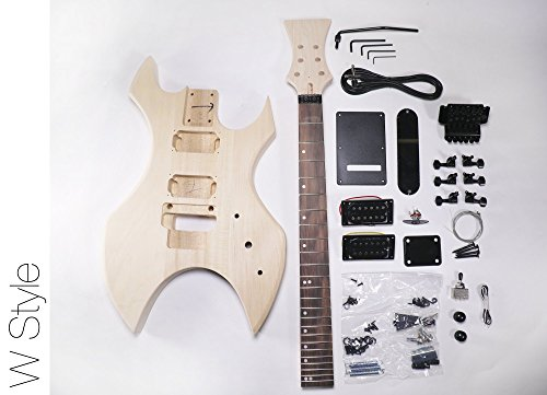 DIY Electric Guitar Kit W Style Build Your Own Guitar Kit