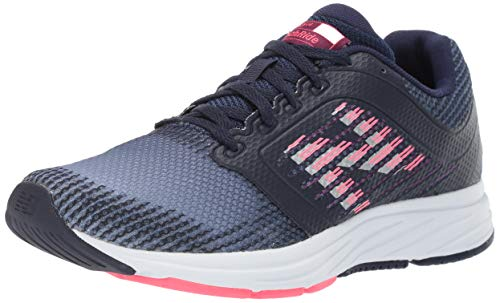 New Balance Women's 480v6 Running Shoe Pigment/Claret/Pink zing 8.5 D US (New Balance Shoes Smell Like Cat Urine)
