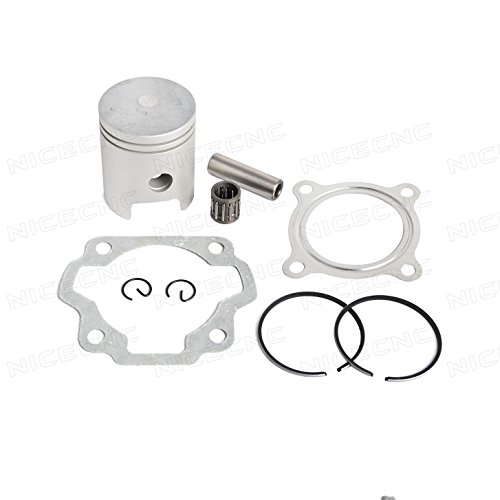 NICECNC Piston Ring Kit Gasket Wrist Pin Bearing Set for Dirt Bike YAMAHA PW80 1985-2006 (Piston Pin Set)