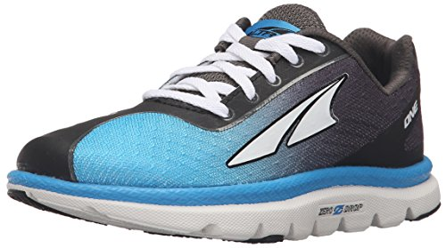ALTRA Kids' ONE JR Running Shoe, Blue, 1.5 M US Little Kid