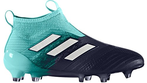 adidas Kid's ACE 17+ PURECONTROL FG J Soccer Cleats (Sz. 4.5) Energy Aqua by adidas