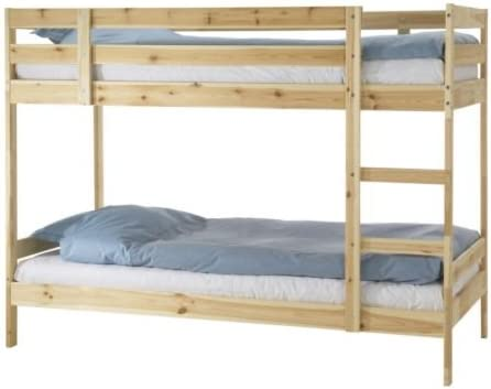 mydal Litera pino IKEA – para colchones de 90 cm x 200 cm: Amazon.es: Hogar