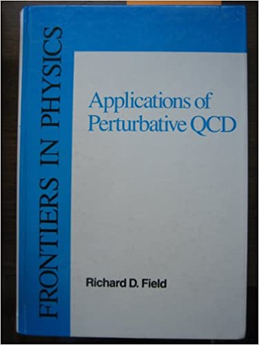Applications Of Perturbative Qcd (Frontiers in Physics)