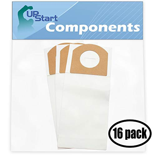 48 Replacement for Dirt Devil 553Z Vacuum Bags with 7-Piece Micro Vacuum Attachment Kit - Compatible with Dirt Devil 3010348001, 3010347001, Type G Vacuum Bags (16 Pack - 3 Vacuum Bags per Pack)