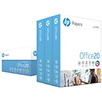 HP Office 500 Sheets 8.5 x 11 Letter 3 Ream Carton Printer Ultra White Paper