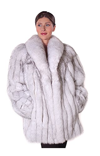 Natural Fox Fur Jacket - 3