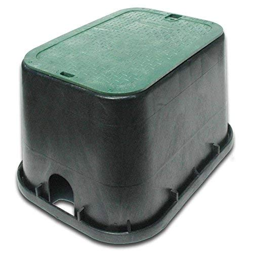 NDS 17-in L x 24-in W x 12-in H Rectangular Irrigation Valve Box