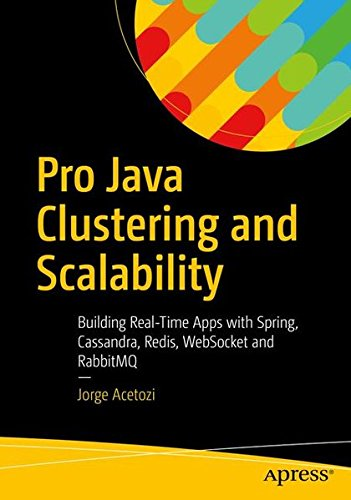 Pro Java Clustering and Scalability Building Real Time Apps with Spring Cassandra Redis WebSocket and RabbitMq