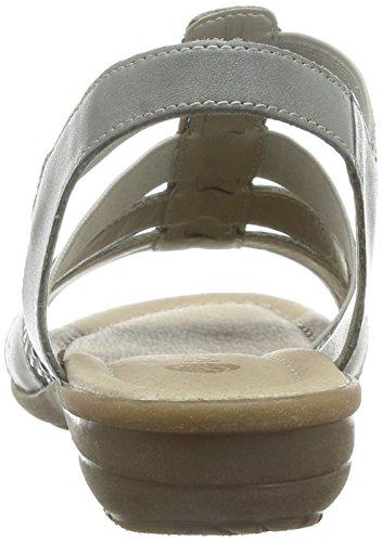 Remonte R3644 - Sandalias Mujer Gris - Grau (whiteiron/grau / 42)