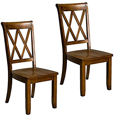 Standard Furniture Vintage Transitional Style Dining Side Chairs