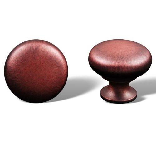 Rk International - Distressed Copper Rki Thin Mushroom Knob (Rkick1118Dc)