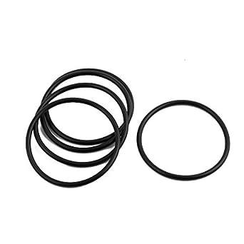edealmax 5pcs noir 37mm dia 2 mm d 39 paisseur en caoutchouc nitrile joint torique d 39 tanch it. Black Bedroom Furniture Sets. Home Design Ideas