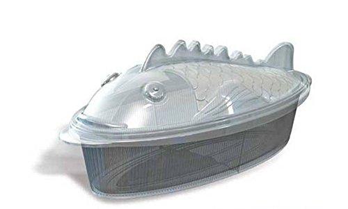 Baking Dish Shaped (Silikomart Silicone Pratika Collection Fish Baking Dish, Transparent)