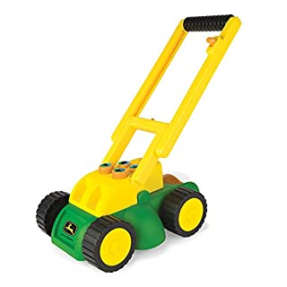 TOMY John Deere Electronic Lawn Mower, Toy for Kids