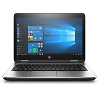 HP Probook 640 G3 14 Notebook, Windows, Intel Core i5 2.6 GHz, 4 GB RAM, 500 GB HDD, Black (1BS10UT#ABA)