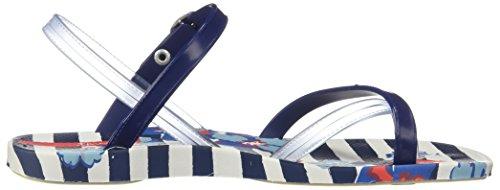 Zehensandale Fashion Blau 82292 White Mädchen Kids Sandal Blue Weiß Ipanema V Y1xZR1T