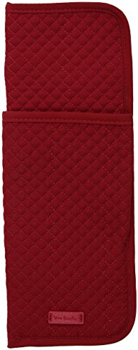 Vera Bradley Iconic Curling & Flat Iron Cover Vv, cardinal red (Chi Hair Straightener By Chi)