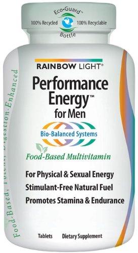 Arc-en-Lumière performance énergétique Multivitamines pour hommes, comprimés supplément de multivitamines, 180 comprimés