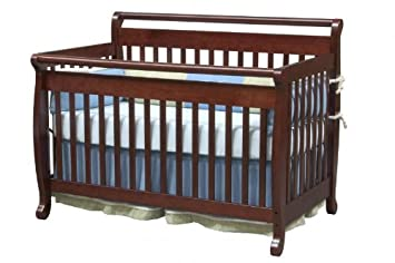 Amazoncom DaVinci Emily 4in1 Convertible Crib w FullTwin Size
