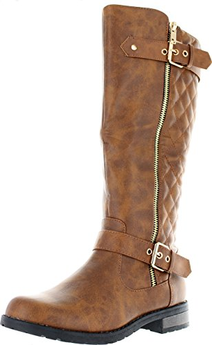 Quilted Boots - 8