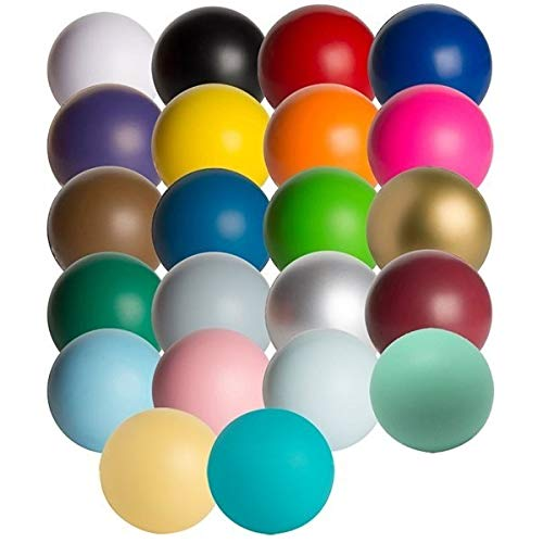 Solid Color Stress Ball - 150 Quantity - $1.31 Each - Promotional Product/Bulk with Your Logo/Customized - -