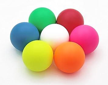 Stage pelotas para malabares (90 mm), rosa, 90 mm: Amazon.es ...