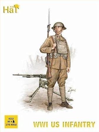 World War I set 8293 British Infantry Tropical Dress 1//72 Toy Soldiers HaT Ind