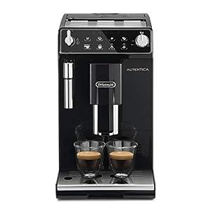 De'Longhi Autentica ETAM29.510.B Macchina da Caffè Automatica per Espresso e Cappuccino, Caffè in Grani o in Polvere, 1450 W, Nero