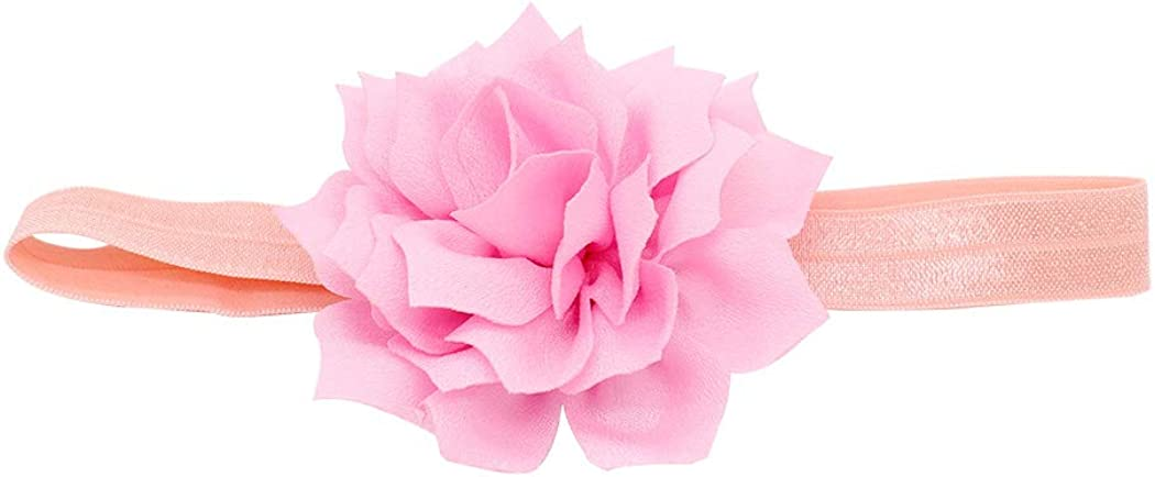 Ranvi 10 PCS Sweet Baby Girl's Headbands Chiffon Flower Hair Accessories for Newborn Toddler and Kids