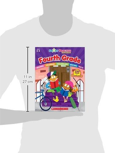 Smart Practice Workbook: Fourth Grade (Smart Practice Workbooks) by Scholastic (Image #1)