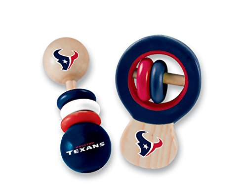 MasterPieces NFL Houston Texans Baby Rattle