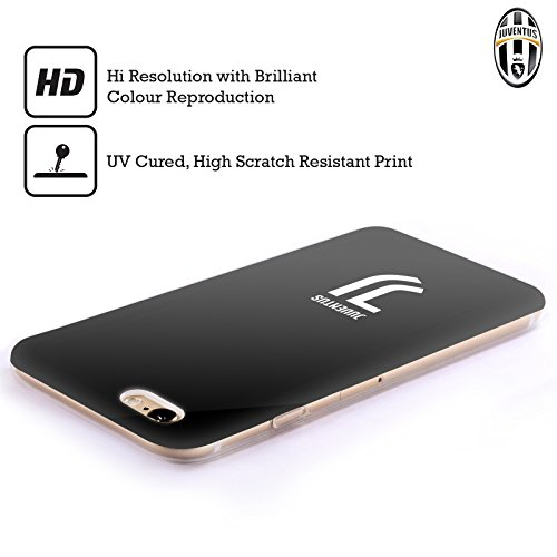 Officiel Juventus Football Club Plaine Style De Vie 2 Étui Coque en Gel molle pour Apple iPhone 6 / 6s