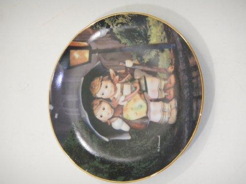 MJ Hummel From The Danbury Mint Plate NO. MA1984 (Stormy Weather) - Hummel Danbury Mint