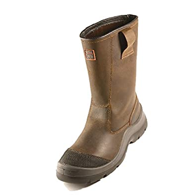 Honeywell Bac'Run 760 Brown S3 Safety Rigger Boot: Amazon.co