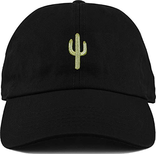 H-214-C06 Dad Hat Unconstructed Vintage Washed Low Profile Baseball Cap - Cactus